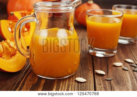 Fresh Pumpkin Juice