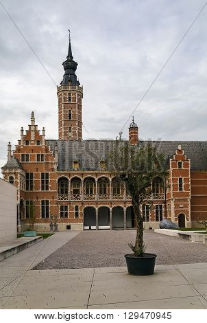 Large town house was built in the 16th century for Hieronymus van Busleyden Mechelen Belgium