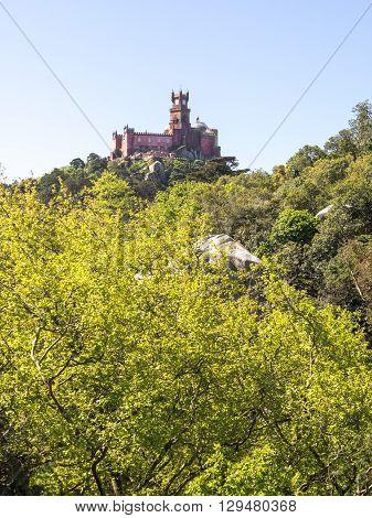 Da Pena Castle From The Distance