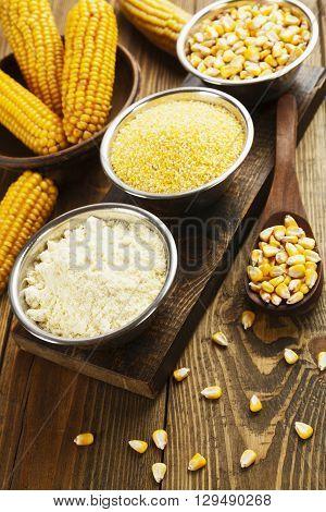 Corn Flour, Cereals And Grains