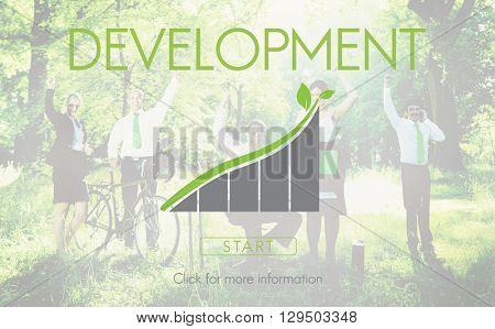 Development Green Business Environment Ecology Concept