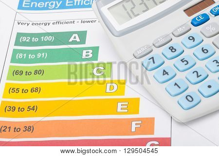 Energy Efficiency Chart And Calculator