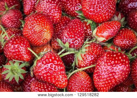 Pile Of Strawberry Can You For Food Background