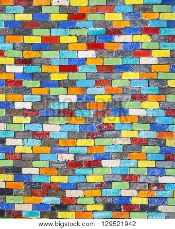 Ceramic Decorative Wall Tile Texture And Background