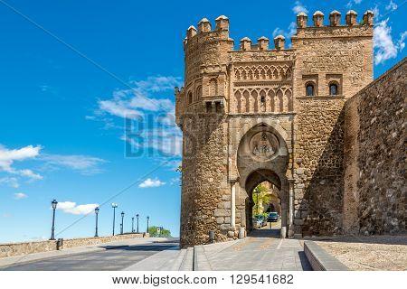 Gate of the Sun (Puerta del Sol) in Toledo - Spain