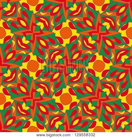 vector cool abstract seamless colorfull pattern background.