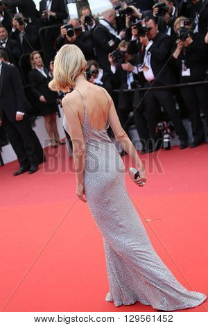Naomi Watts attends the 'Money Monster' Premiere during the 69th annual Cannes Film Festival on May 12, 2016 in Cannes, France.