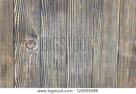 background made of wooden old brown  planks