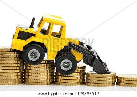 falling yields in the construction industry
