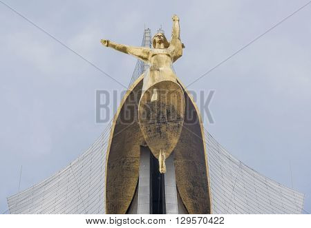ROSTOV-ON-DONRUSSIA- MAY 11- The memorial stele