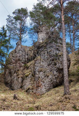 Rock formations - Blatnicka dolina in Velka Fatra range Slovakia