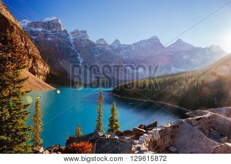 Moraine Lake, Lake Louise, Banff National Park