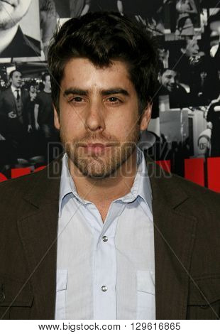 Adam Goldberg at the season 3 premiere of HBO's 'Entourage' held at the Cinerama Dome in Hollywood, USA on April 5, 2007.