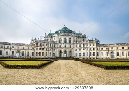 Stupinigi palace - turin - piedmont italy region