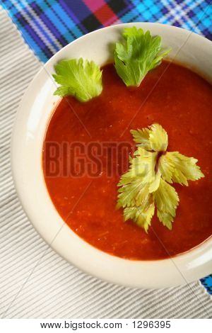 Soup A La Blood Mary