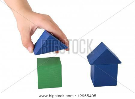 child making house