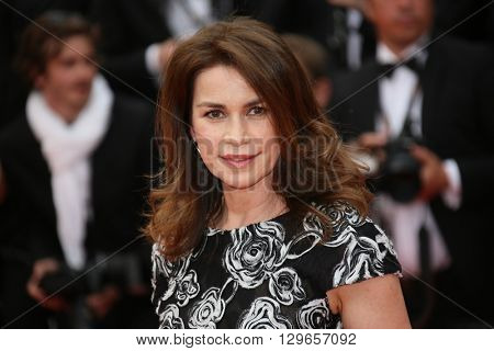 Valerie Kaprisky attends the 'Slack Bay (Ma Loute)' premiere during the 69th annual Cannes Film Festival at the Palais des Festivals on May 13, 2016 in Cannes, France.