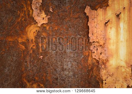 Metal Rust Wall Texture Surface