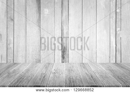 Wood Texture Surface With Wood Terrace