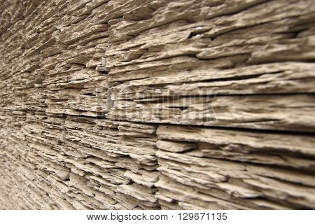 Wooden texture perspective view wood pattern. Creative photo background