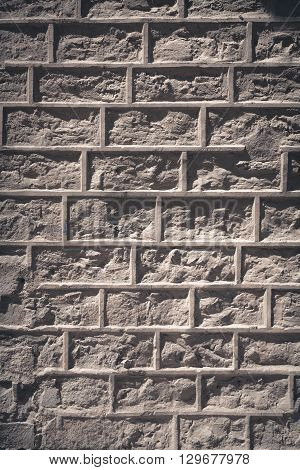 Brick wall to use as background or texture