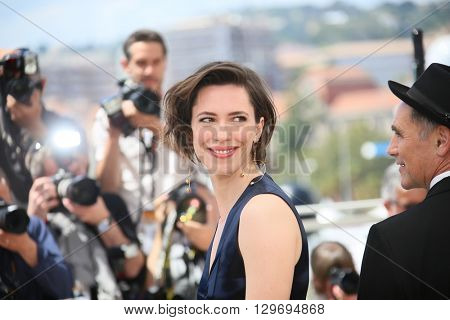 Rebecca Hall attends 'The BFG (Le Bon Gros Geant - Le BGG)' photocall during the 69th annual Cannes Film Festival at the Palais des Festivals on May 14, 2016 in Cannes, France.