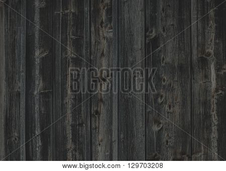 Old rough discolored wooden texture and background
