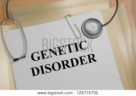 Genetic Disorder Medicial Concept