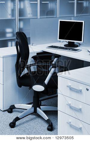Computer auf dem Schreibtisch
