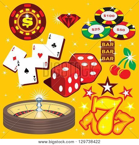Many elements of gambling related to Casino Games