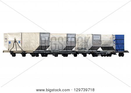 Freight Containers For Passenger Baggage.