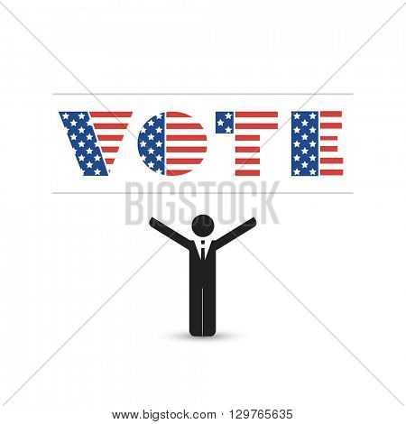 USA Voting Design Concept