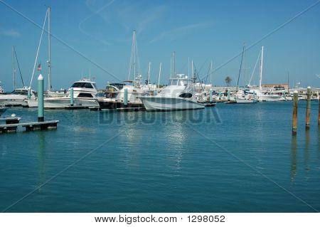 Fishing Fleet Ready To Go