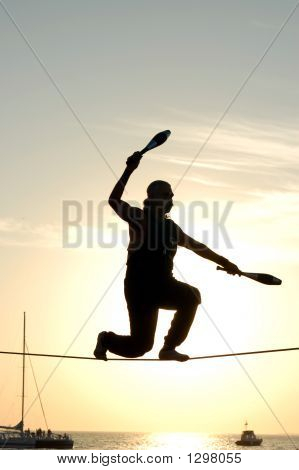 Juggler On A Tightrope