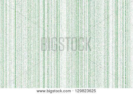 light green digital codes background in matrix style on white background.
