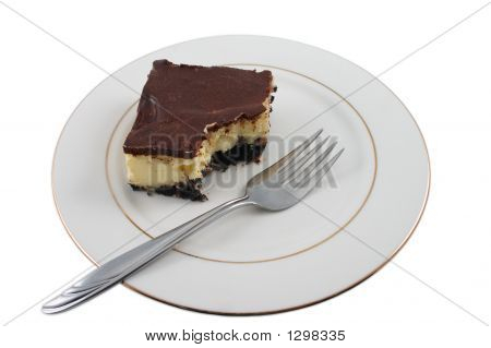 Bite Out Of Cheesecake