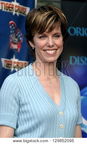 Lise Simms at the Los Angeles premiere of 'Tiger Cruise' held at the DGA Theatre in Los Angeles, USA on July 27, 2004.