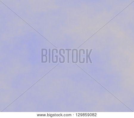 A gray fog in the blue sky.