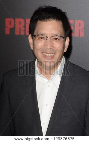 LOS ANGELES - MAY 14:  Scott Takeda at the Preacher Premiere Screening at the Regal 14 Theaters on May 14, 2016 in Los Angeles, CA