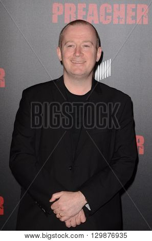 LOS ANGELES - MAY 14:  Garth Ennis at the Preacher Premiere Screening at the Regal 14 Theaters on May 14, 2016 in Los Angeles, CA