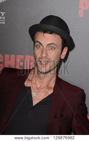 LOS ANGELES - MAY 14:  Joseph Gilgun at the Preacher Premiere Screening at the Regal 14 Theaters on May 14, 2016 in Los Angeles, CA