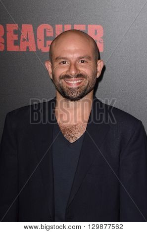 LOS ANGELES - MAY 14:  Anatol Yusef at the Preacher Premiere Screening at the Regal 14 Theaters on May 14, 2016 in Los Angeles, CA