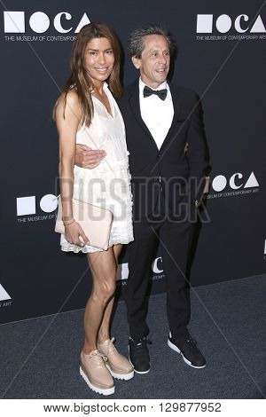 LOS ANGELES - MAY 14:  Veronica Smiley, Brian Grazer at the MOCA Gala at the Geffen Contemporary at MOCA on May 14, 2016 in Los Angeles, CA