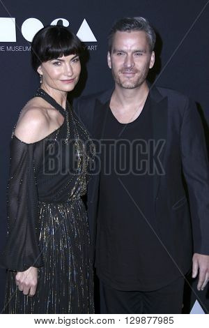 LOS ANGELES - MAY 14:  Balthazar Getty, Rosetta Millington at the MOCA Gala at the Geffen Contemporary at MOCA on May 14, 2016 in Los Angeles, CA