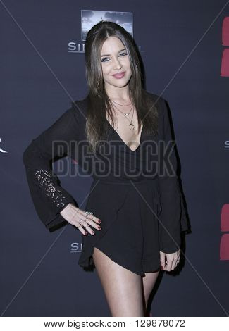 LOS ANGELES - MAY 10:  Trisha Cummings at the Launch of 8 Bullets to Hell at the Private Location on May 10, 2016 in Los Angeles, CA