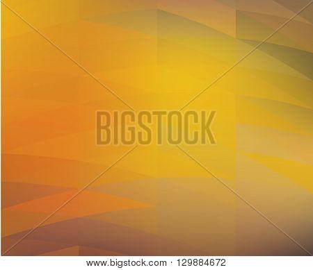 Autumn orange bright abstract modern design - vector