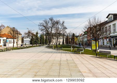 Views Of The City Of Martin In Slovakia