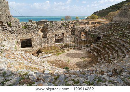 Anemurium Amphitheater View