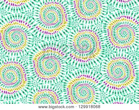 Boho Tie Dye Background Texture Watercolor Effect Vector Colorful 2
