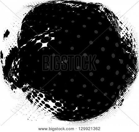 Grunge Abstract Background Design Vector Illustration
